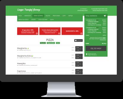 Aplikacja składania zamówień w wersji komputerowej