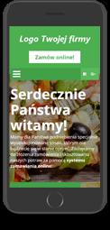 Strona internetowa lokalu w wersji mobilnej